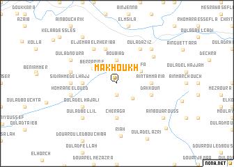 map of Makhoukh