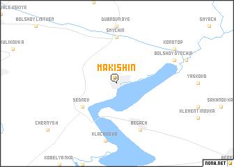 map of Makishin
