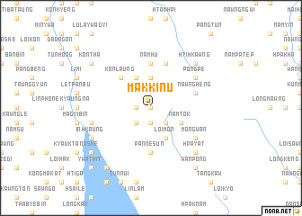 map of Makkinu