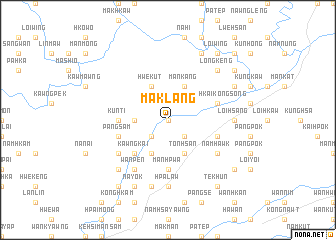 map of Maklang