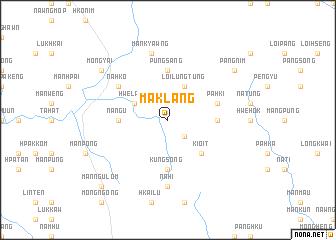 map of Māklāng