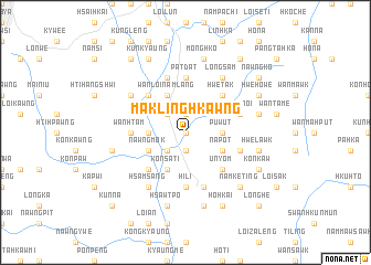 map of Mak Ling Hkawng