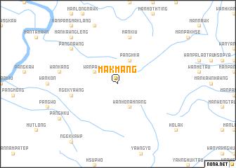 map of Mākmang