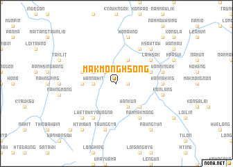 map of Mak Mong Hsong