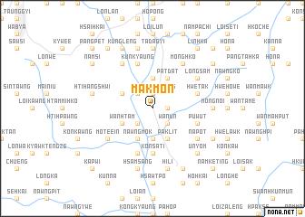 map of Makmon