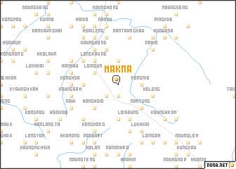map of Māk-na