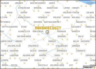 map of Makowiec Duży