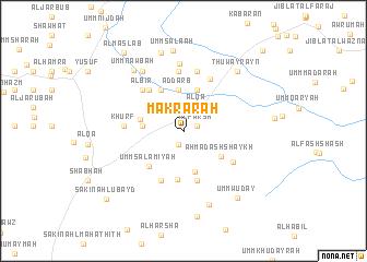 map of Makrārah