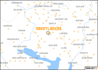 map of Makrýlakkos