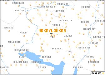 map of Makrýlakkos