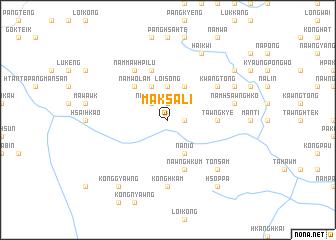 map of Maksali