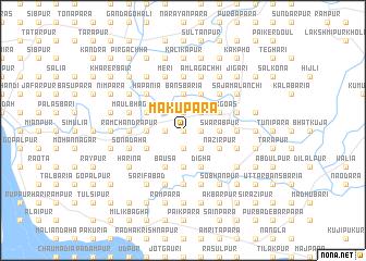 map of Mākupāra