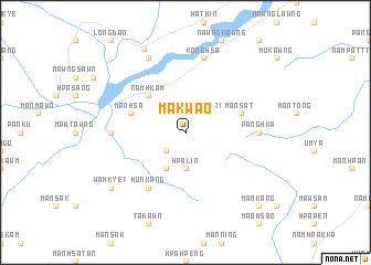 map of Makwao