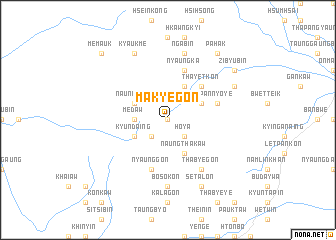 map of Ma-kye-gon