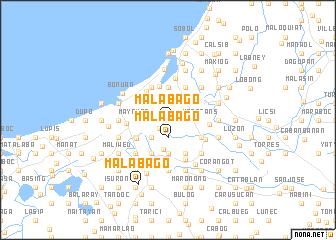 map of Malabago