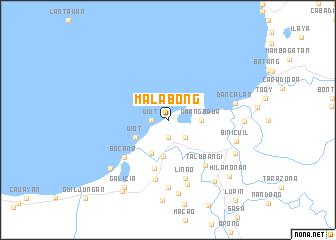 map of Malabong