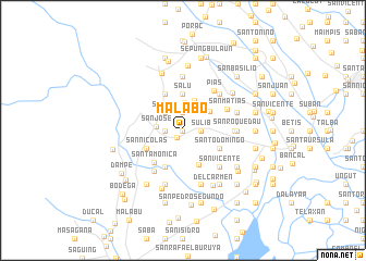 Malabo Philippines map nonanet