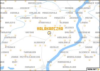 map of Mała Karczma
