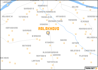 map of Malakhovo