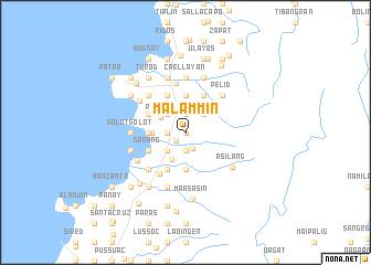 map of Malammin