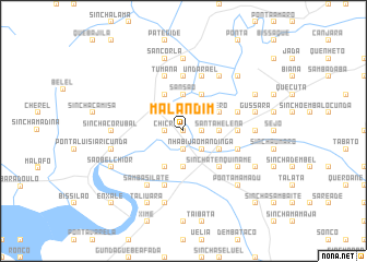 map of Malandim