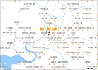 map of Malandim