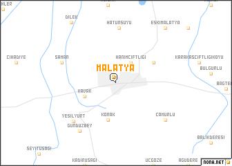 Malatya Turkey map nonanet