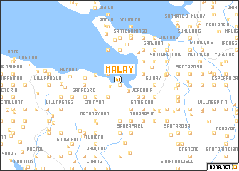 map of Mal-ay