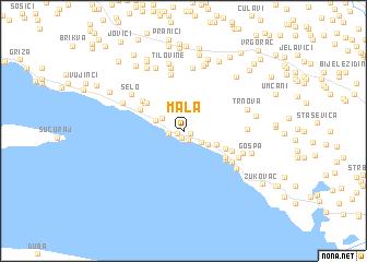 map of Mala