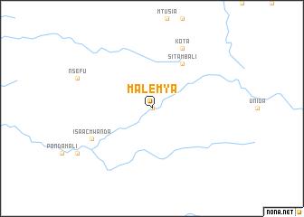 map of Malemya