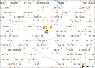 map of Małe
