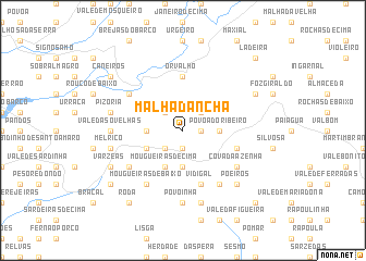 map of Malhadancha