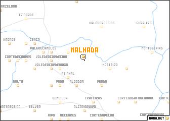 map of Malhada