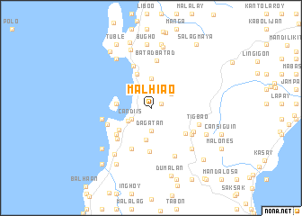 map of Malhiao