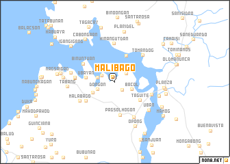 map of Malibago