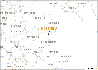 map of Malibay