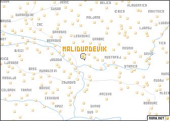 map of Mali Ðurđevik