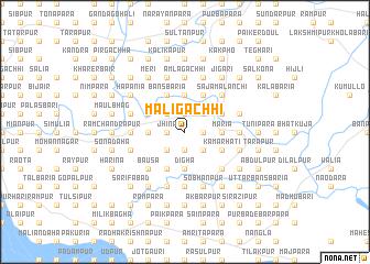 map of Māligāchhi