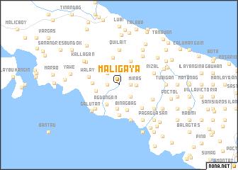 map of Maligaya
