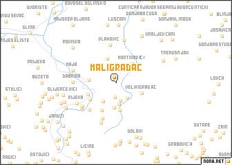 map of Mali Gradac