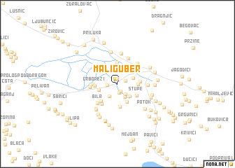 map of Mali Guber