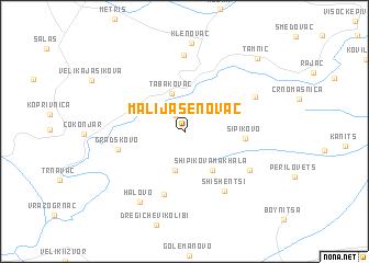 map of Mali Jasenovac