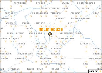 map of Malinie Duże
