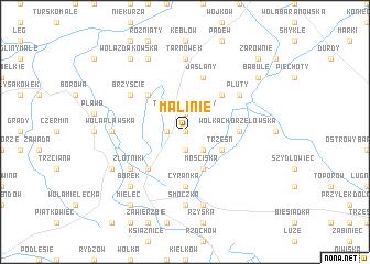 map of Malinie