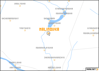 map of Malinovka