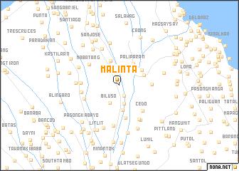 map of Malinta