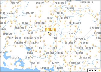 map of Malis
