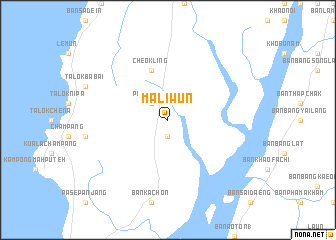 map of Maliwun