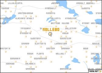 map of Mållebo