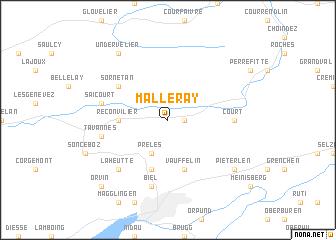 map of Malleray